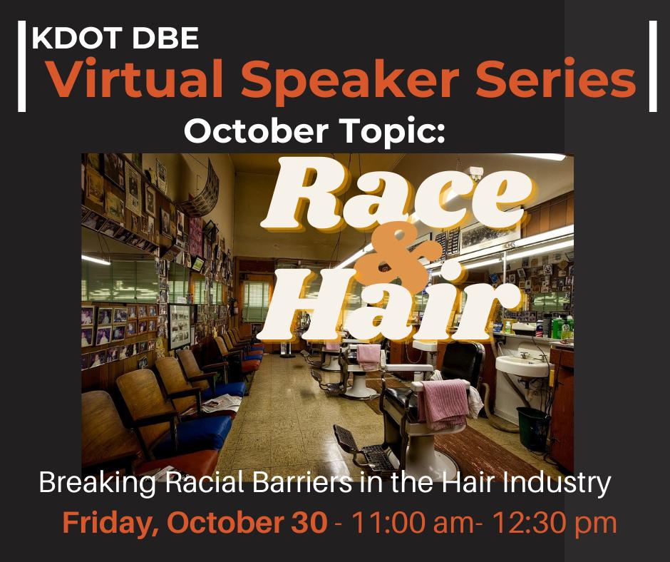 KDOT Virtual Speaker Event
